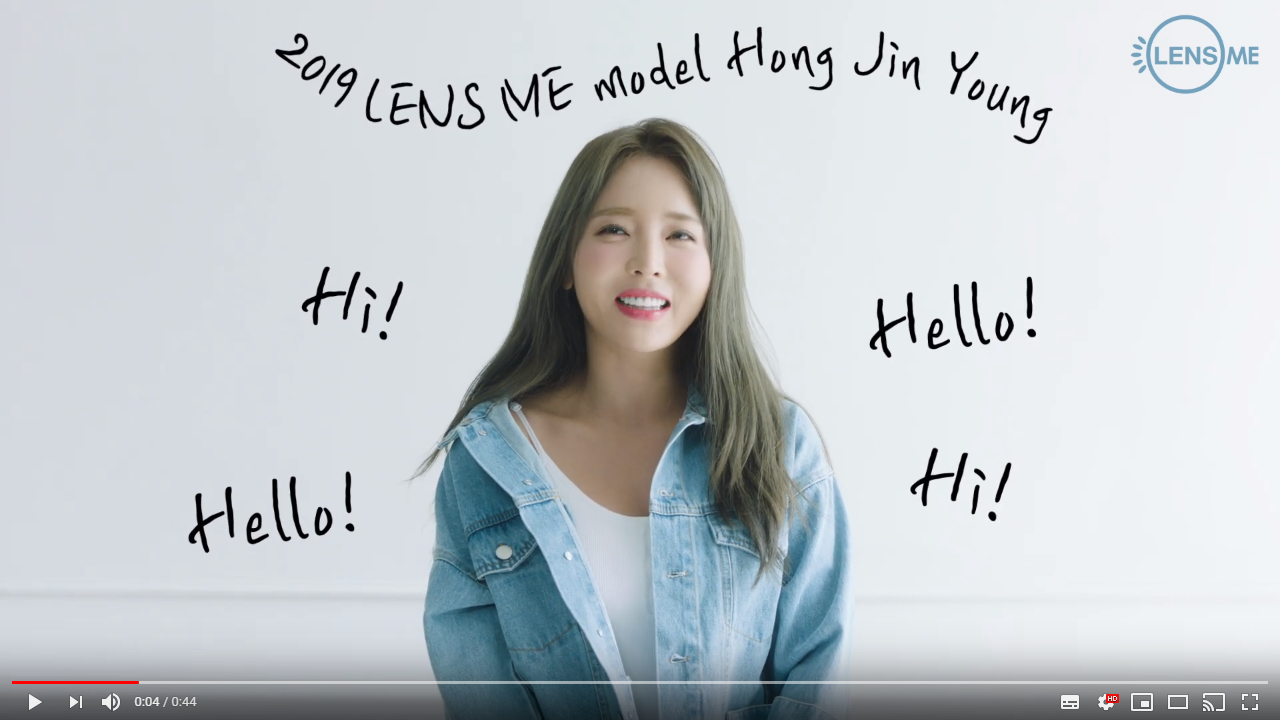 ★making film 08. LENS ME X HONG JIN YOUNG